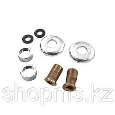 Комплект для смесителя ванна Русс. ( гайка+патрубок+отр.+прокладка), пара упаковка СКИН СК600312