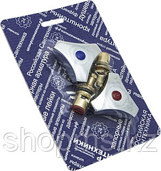 Маховик белый ЦС + Вент.головка 1/2 КБК, пара упаковка СКИН СК600415