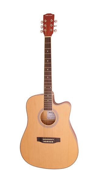 WM-C4115-NR Гитара акустическая, с вырезом, цвет натуральный, Mirra