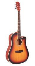 WM-C4115-SB Гитара акустическая, с вырезом, санберст, Mirra