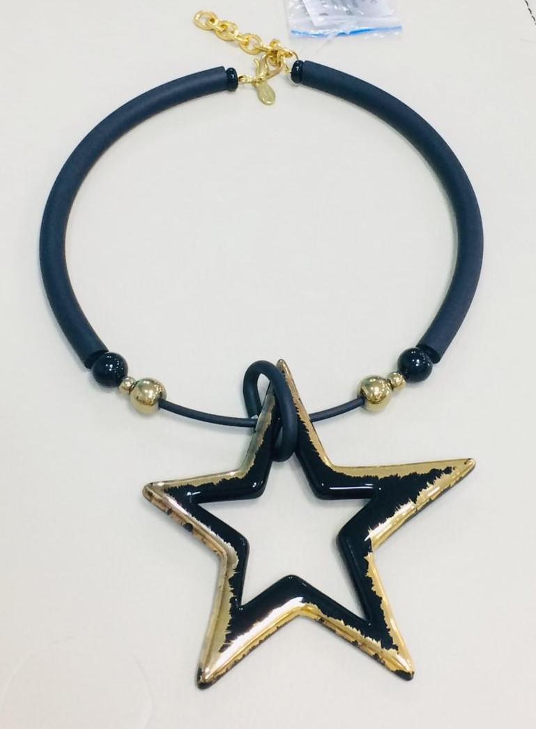 "Колье ""Звезда"" из муранского стекла - фото 1"