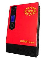 Гибридный солнечный инвертор 3000Вт 24В 220В Встроенный солнечный контроллер заряда PWM 60A