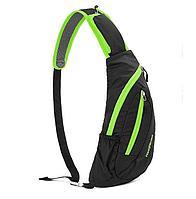 Рюкзак-сумка с одной лямкой 6 л черный Naturehike NH23X008-K