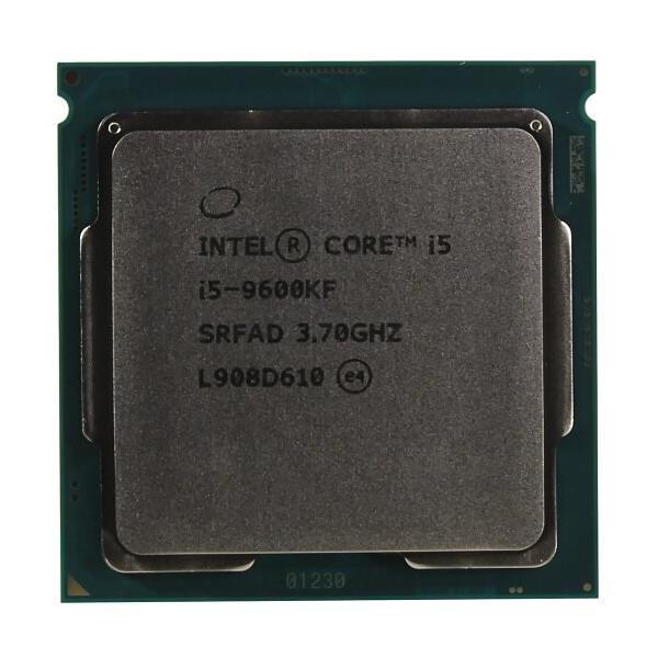 CPU Intel Core i5 9600KF 3,7GHz (4,6GHz) 9Mb 6/6 Core Coffe Lake Tray 95W FCLGA1151 НОВИНКА!!!