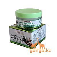 Увлажняющий крем для лица c алое вера (Aloe vera Moisturizer Cream PATANJALI), 50 гр