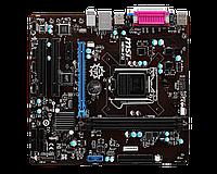 Материнская плата (S-1150) MSI H81 H81M-P32 (VGA) LPT COM 1xPci-Ex16 1xPci-Ex1 2xPCI 2xDDR3 Glan