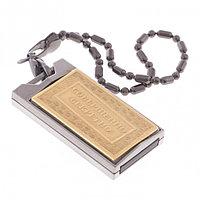 "Флешка подарочная ""Совершенно секретно"" Златоуст USB 2.0 32 Gb упаковка футляр флок"