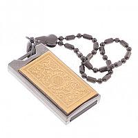 """Подарочная флешка для мужчин """"Орнамент"""" Златоуст USB 2.0 32 Gb упаковка футляр"""