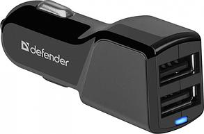 Адаптер питания Defender UCA-34 2xUSB, 5V/3.4А