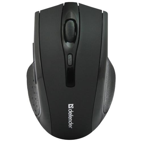 Мышь беспроводная Defender Accura Accura MM-665 черный,6 кнопок, 800-1600 dpi