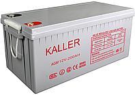 Аккумулятор Kaller(12В, 200Ач) для ИБП и Солнечных электорстанций