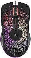 Мышь игровая Defender Sirius GM-660L RGB 7 кнопок 3200dpi черный