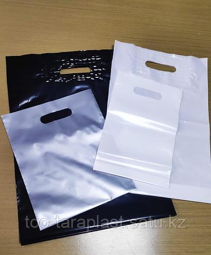 Пакеты полиэтиленовые 70*60см Серебро