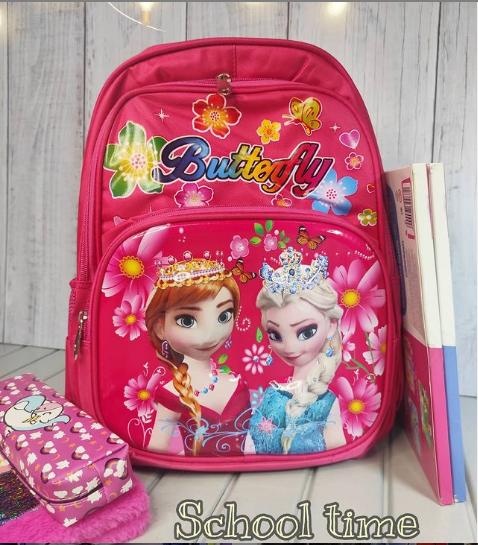 Школьный 3D рюкзак для девочки