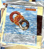 Круг надувной Пончик 70см для бассейна