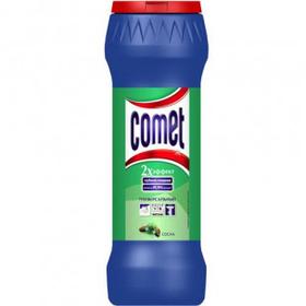 """Чистящий порошок универсальный Comet """"Сосна"""", 475 гр"""