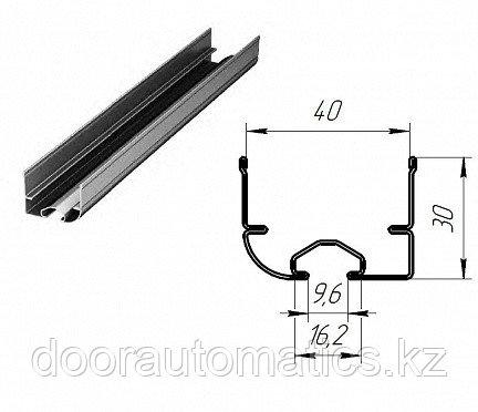 Профиль нижний стальной для гаражных секционных ворот
