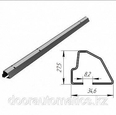 Профиль нижний встраиваемый для панелей ЗЗП 40 мм