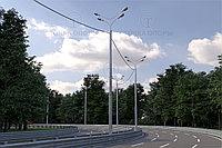 Опора освещения силовая круглоконическая ОКС 2-7,0-1,5