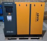 Винтовой компрессор APD-50V, -6,2 куб.м, 37кВт, (с частотным приводом+двиг.PM) AirPIK, фото 3