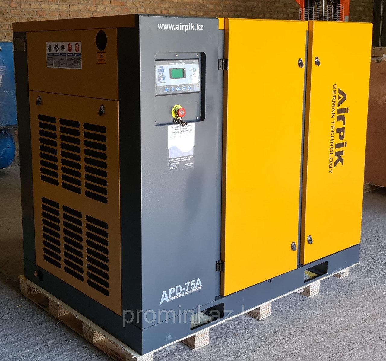 Винтовой компрессор APD-75A, -9.6 куб.м, 55кВт, AirPIK