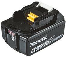 Аккумулятор Li-lon BL1860B MAKITA 18В, 6Ач. (коробка 1шт.) арт. 197422-4