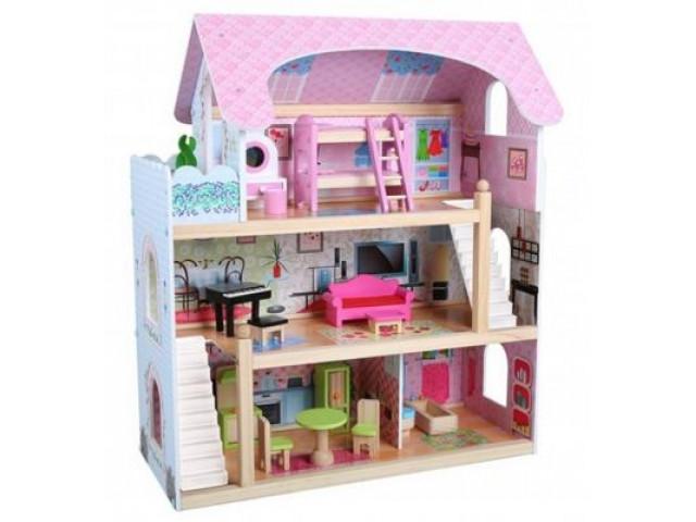 Кукольный дом с мебелью Edufun (EF4110)