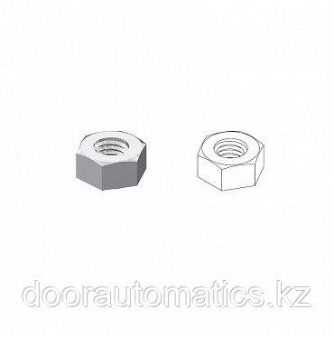 Гайка/ D=М10/ Шестигранная/ Неоцинкованный/ Ст35