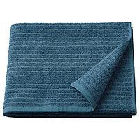 Полотенце банное ВОГШЁН синий 70х140 ИКЕА, IKEA