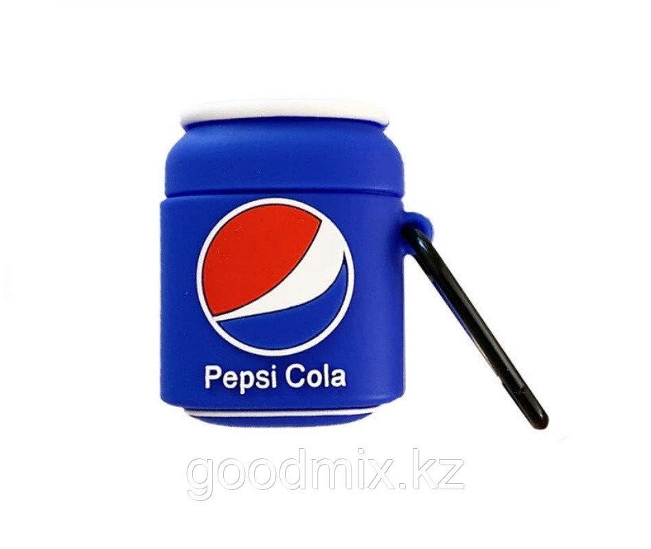 Силиконовый чехол для Apple AirPods Pepsi