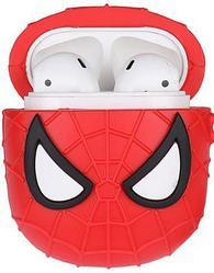 Силиконовый чехол для Apple AirPods / AirPods 2 Человек-паук
