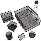 """Настольный набор из металла Berlingo """"Steel&Style"""", 7 предметов, черный, фото 3"""