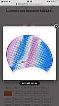 Шапочка для плавания - силикон мультиколлор