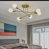 Винтажная потолочная люстра на 6 ламп