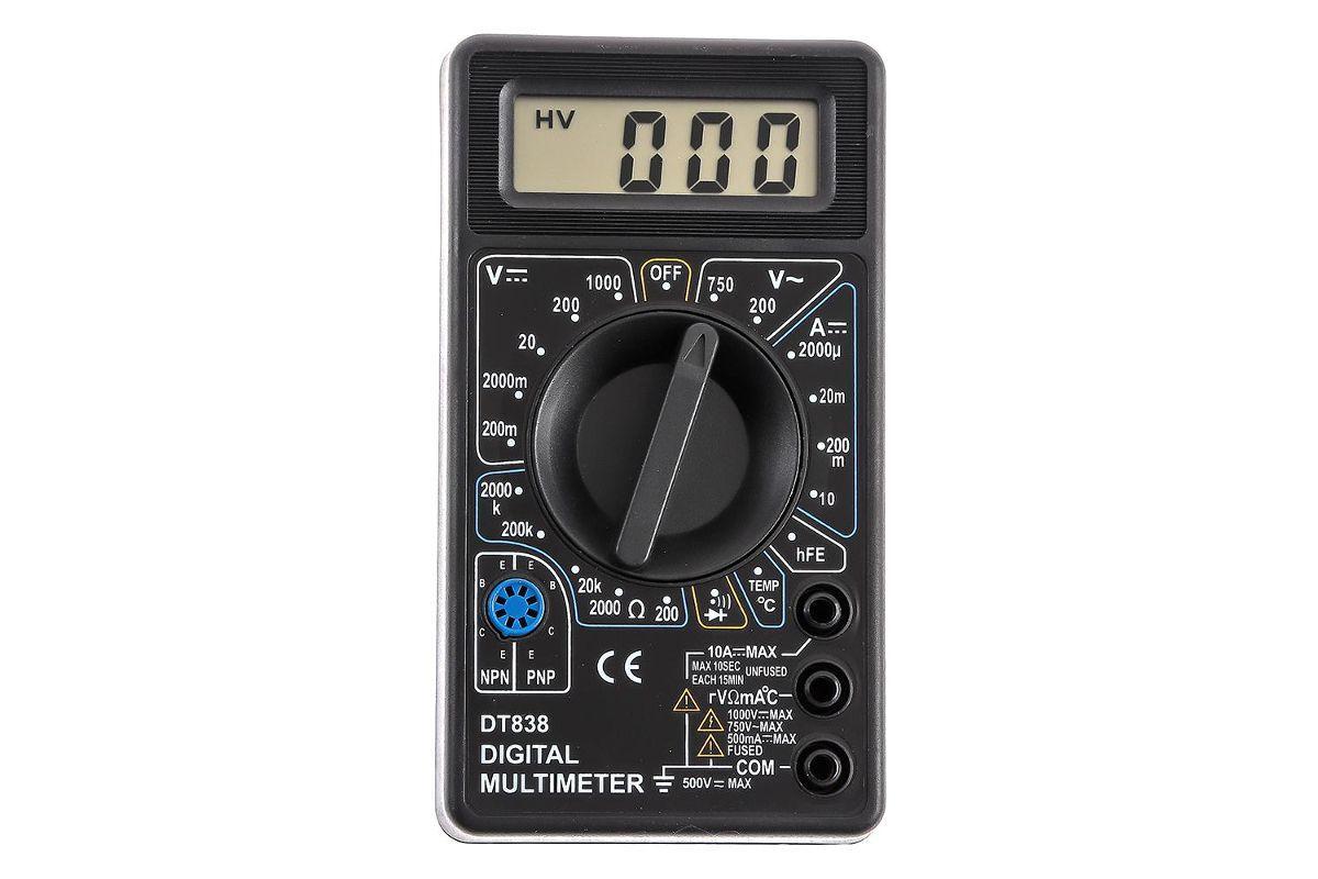 Мультиметр TEK DT 838 61/10/513