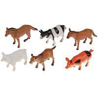 Играем вместе: Набор из 6 домашних животных 10 см
