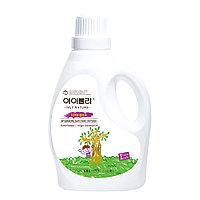 Ivly КОНДИЦИОНЕР для белья с экстрактами тиаре и кокосового масла Nature Baby Fabric Softener / 1800 мл.