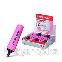 Текстмаркер ErichKrause® Visioline V-12, цвет чернил розовый (упак./10 шт.)