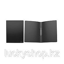 Папка на 2 кольцах пластик. ErichKrause® Classic, 35мм, A4, черный (в коробке-дисплее по 12 шт.)
