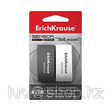 Блистер ластиков ErichKrause® Sensor Black&White (2 ластика)