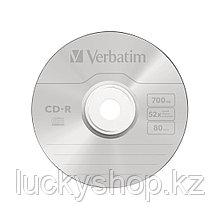 Диск CD-R Verbatim (43352) 700MB 25штук Незаписанный