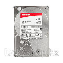 "Жёсткий диск HDD 2Tb Toshiba SATA6Gb/s 7200rpm 64Mb 3,5"" HDWD120EZSTA"