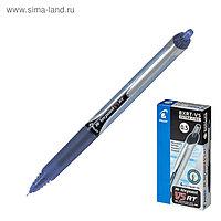 Ручка-роллер автоматическая PILOT Hi-Tecpoint V5 RT, узел-игла 0.5мм, линия 0.25мм, чернила синие
