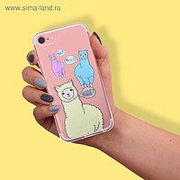 Чехол для телефона iPhone 6, 6S, 7 с эпоксидными элементами What?, 6.5 × 14 см