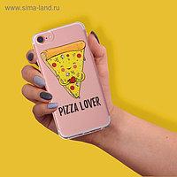 Чехол для телефона iPhone 7,8 Pizza lover, 6.5 × 14 см