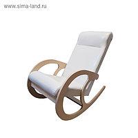 Кресло-качалка София, 530х1000х850, Светлый/ Дуб млечный