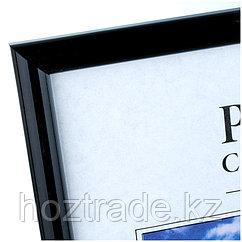 Рамка пластиковая 21*30см, OfficeSpace, №1, black