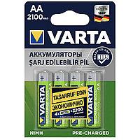 Аккумуляторы VARTA AA 2100 mAh, 4шт