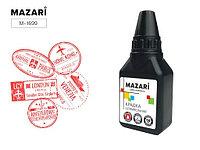 Штемпельная краска 50мл Mazari M-1699 красная