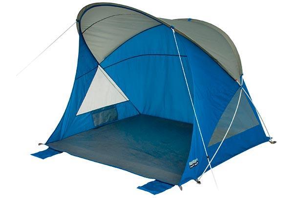 Тент пляжный HIGH PEAK Мод. SEVILLA (130x160x130cм)(1,65кГ)(синий/серый), R89488
